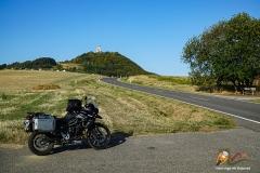 Osteifel mit Blick auf den Bergfried Olbrück